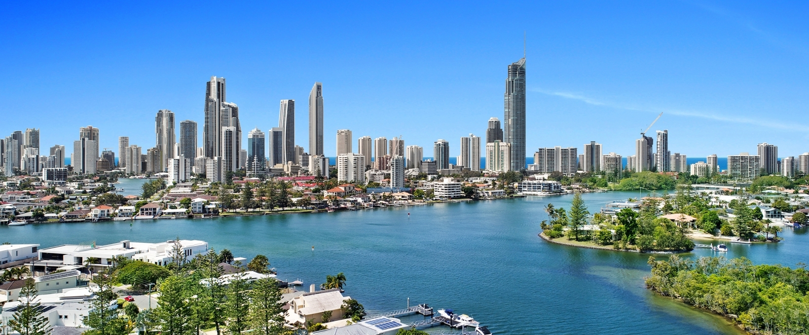 property Gold Coast Australia views of Surfers Paradise
